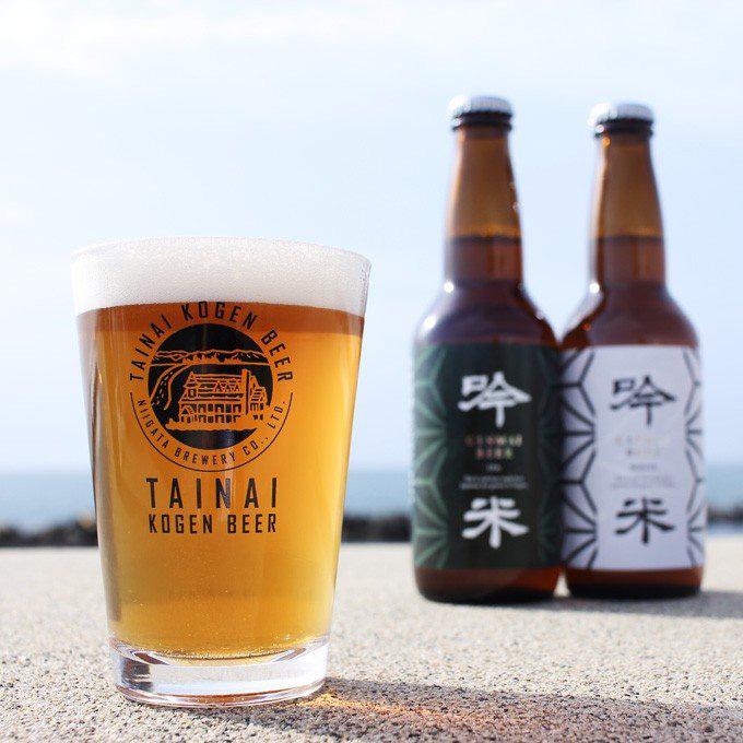 胎内高原ビールの写真