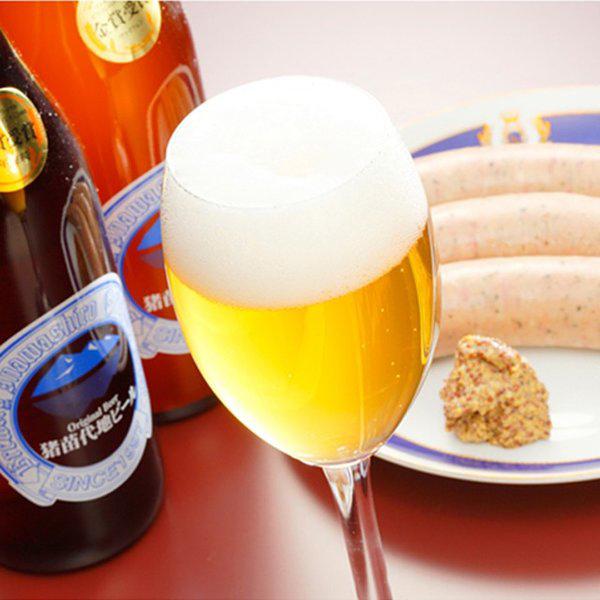 ビール&ソーセージの写真