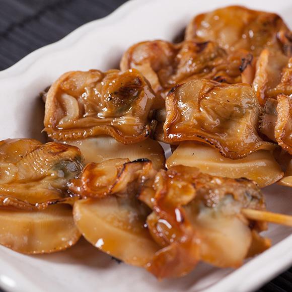 焼き蛤とアサリの写真