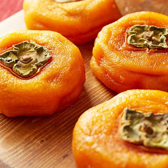 大玉のあんぽ柿の写真