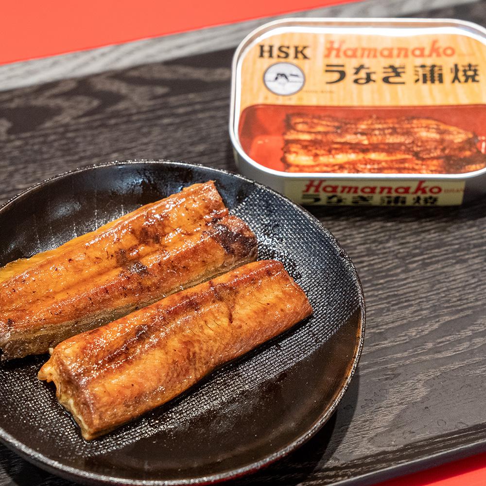 うなぎ蒲焼缶詰の写真