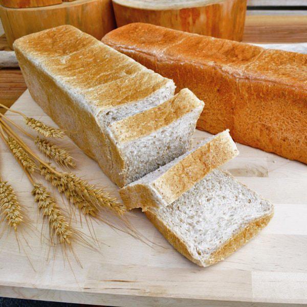 無添加無農薬食パンの写真