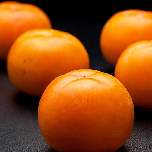 会津産みしらず柿の写真