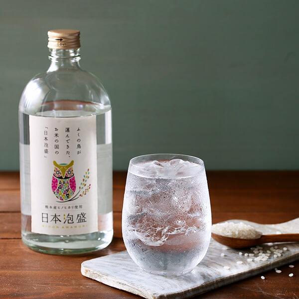日本米×泡盛の写真