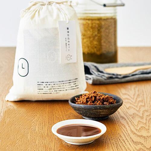 大徳醤油の手作り醤油キットの写真