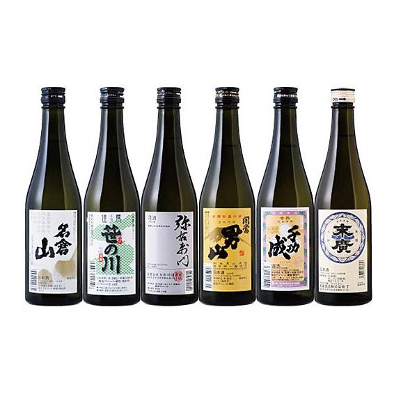 今宵一献!福島の地酒6本セット