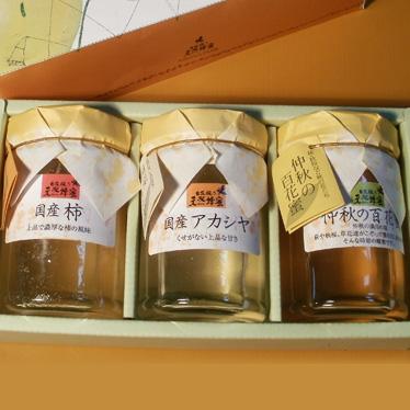 天然蜂蜜3種セット