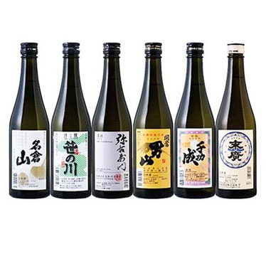 「今宵一献!福島の地酒」6本セット