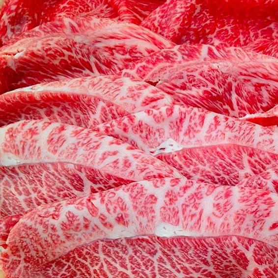 福島牛 うでみすじすき焼用スライス
