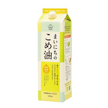まいにちの米油 1500ml×3本