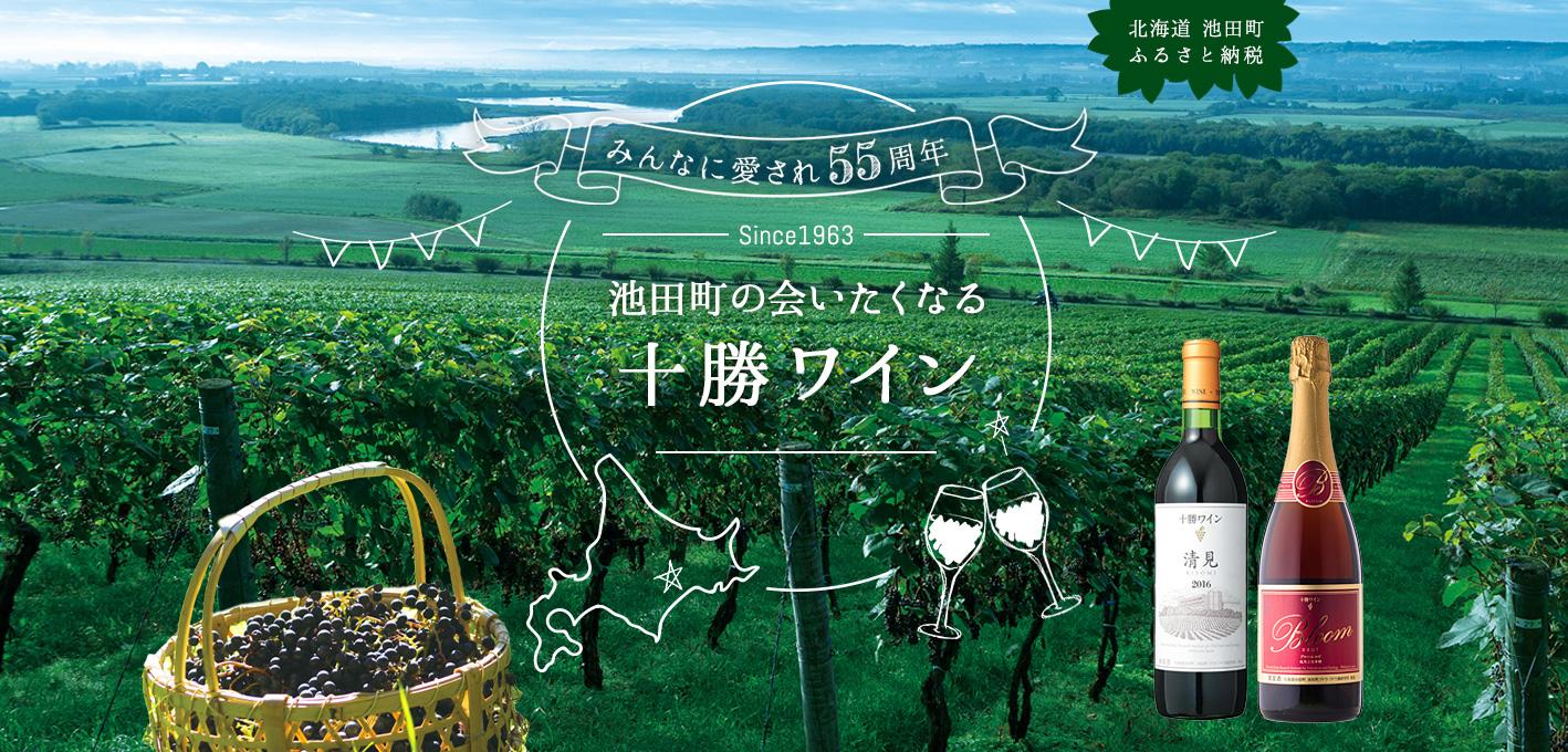 北海道池田町ふるさと納税 みんなに愛され55周年 池田町の会いたくなる十勝ワイン