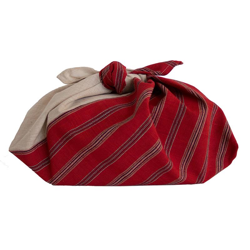 会津木綿のあずま袋の写真