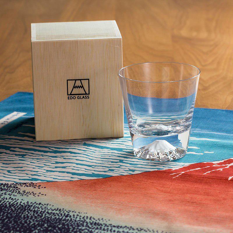 富士山グラスの写真