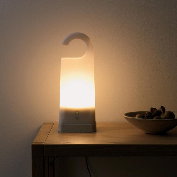 充電式LEDライトの写真