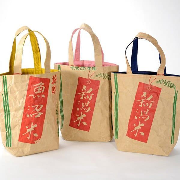 米袋バッグの写真
