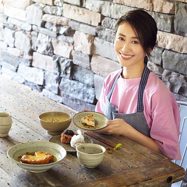 神山まりあさんの、ほんわか幸せレシピ【有明海苔(のり)を使った一汁一菜レシピ】