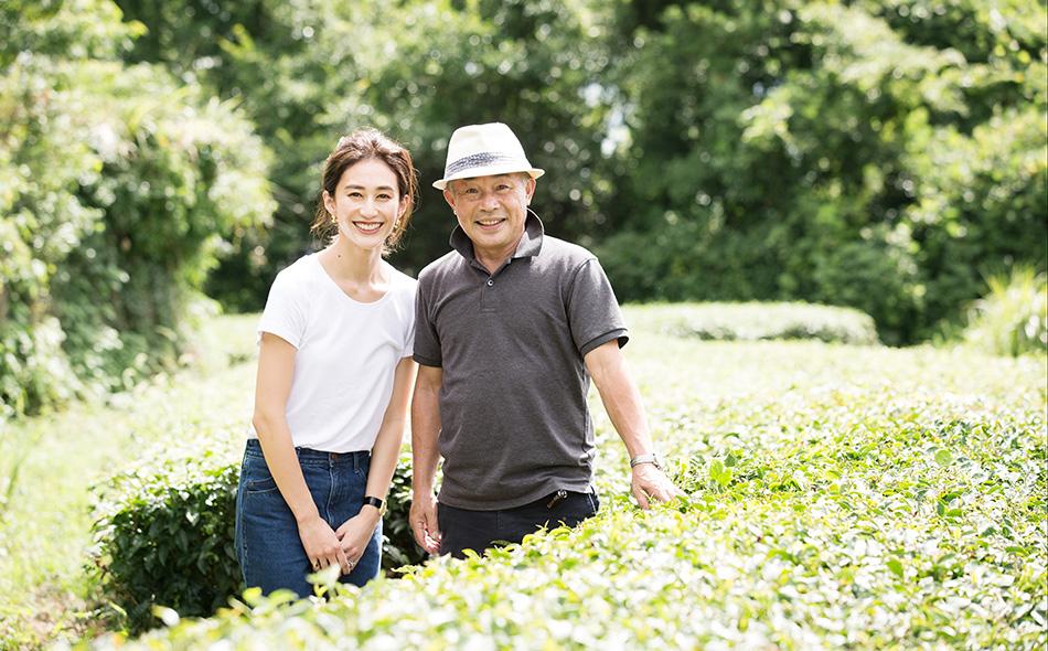 神山まりあさんと選ぶ、作り手の顔が見える無農薬茶葉から生まれた商品の写真