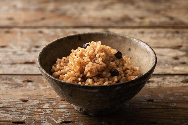 自然農法の玄米