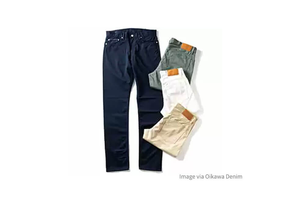 復興への思いを込めて。気仙沼特産メカジキを活用したジーンズ