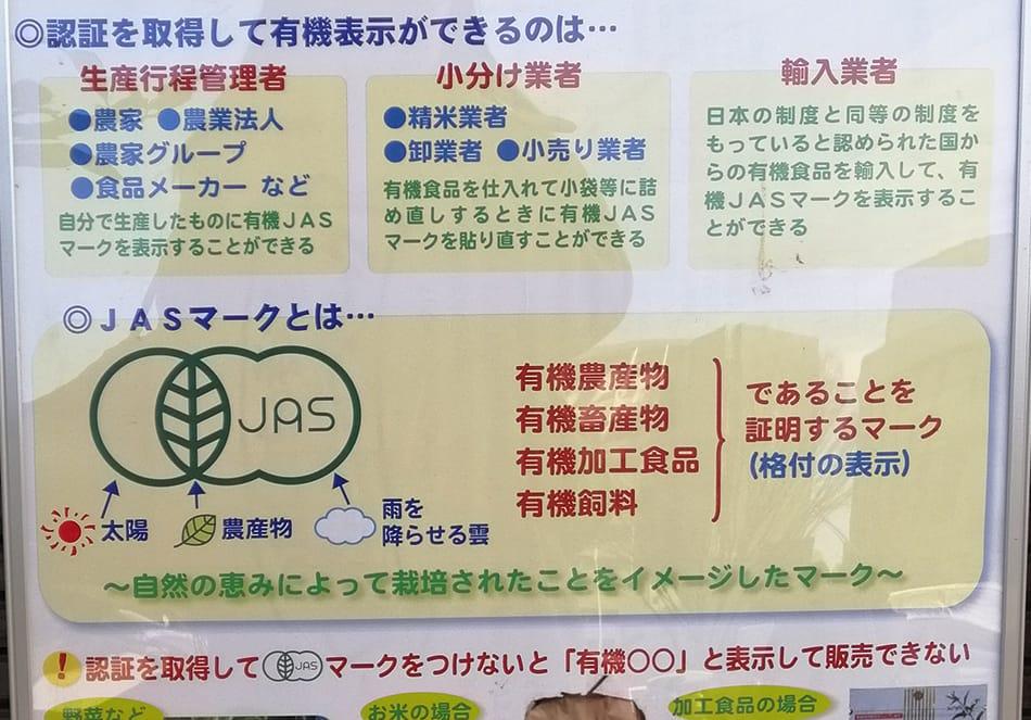 日本の有機栽培の基準、有機JASの今を知る