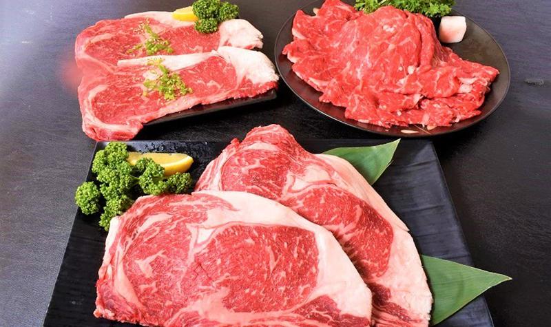 北海道のブランド牛セット