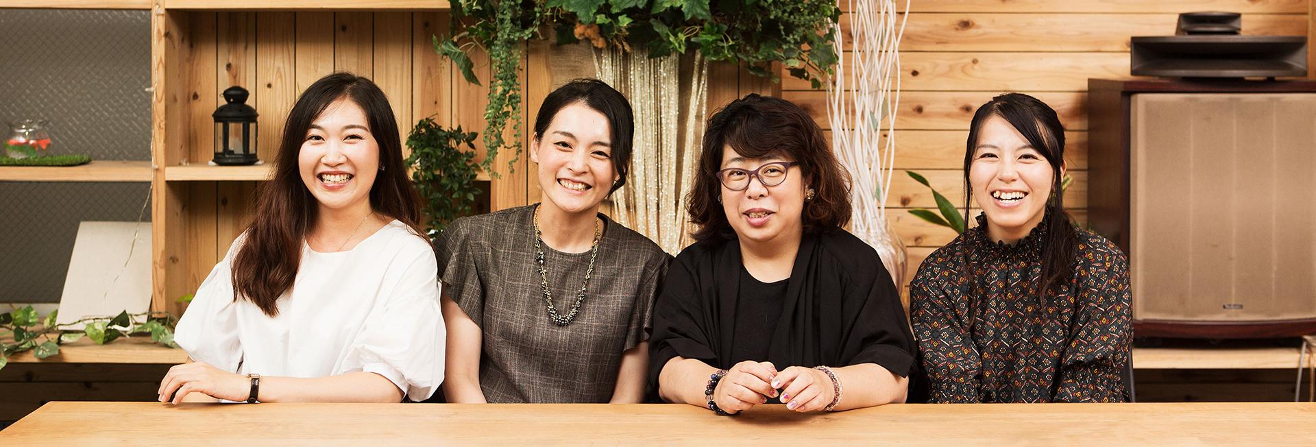 画像:北九州市大好きっちゃママ達の集合写真