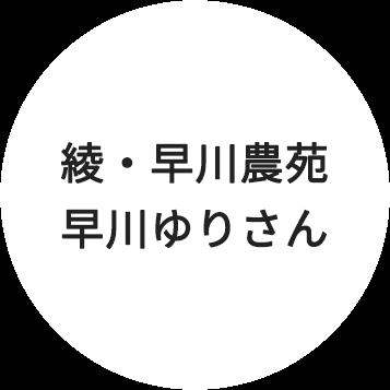 綾・早川農苑 早川ゆりさん
