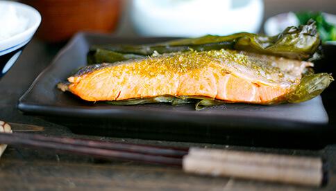 海草焼き銀鮭紅鮭セット