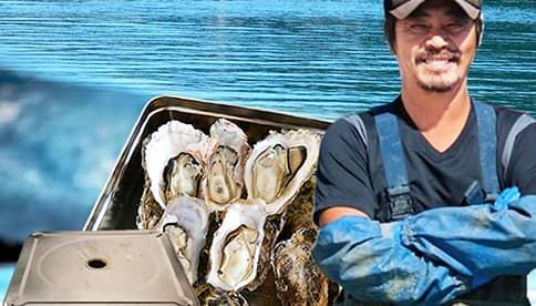 漁師の牡蠣カンカン焼きセット