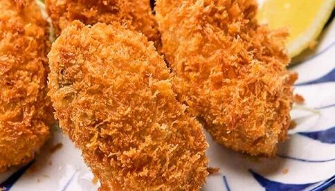 三陸生牡蠣フライ