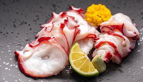 活きた蛸から作った蛸二味セット