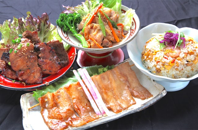 くろば亭の料理の写真