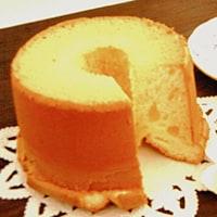 ふわふわシフォンケーキの画像