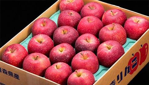 変色しにくいリンゴ「千雪」