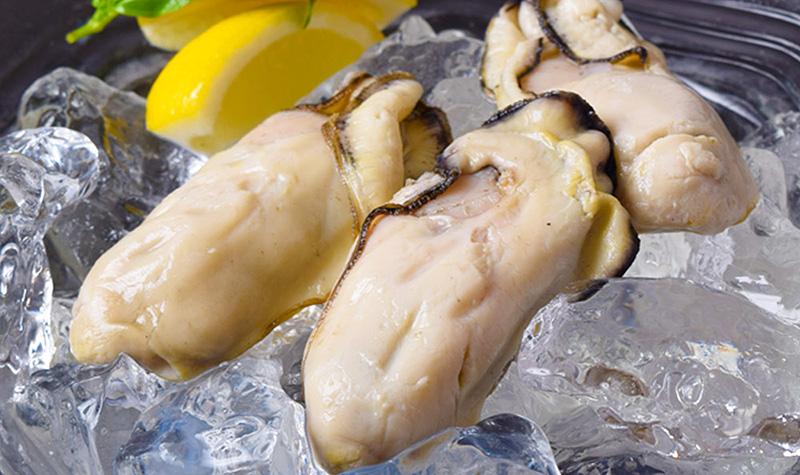 瀬戸内海の旨みあふれる冷凍蒸し牡蠣