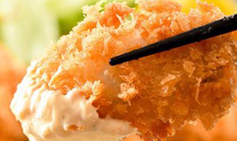 大粒、牡蠣フライ