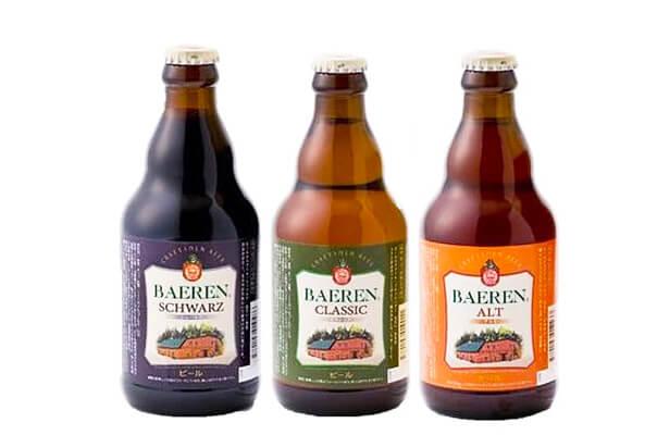 岩手の地ビール3種