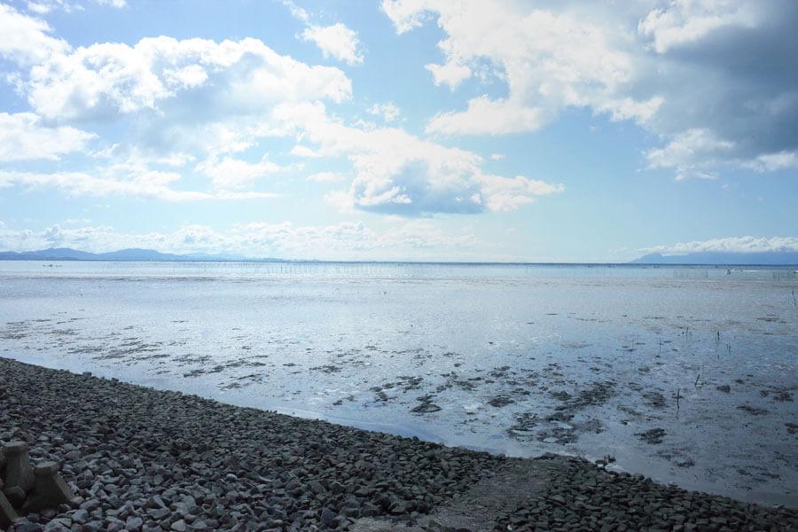 日本一の遠浅の干潟