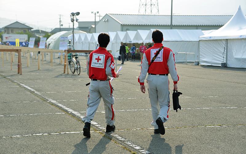 石巻赤十字病院のスタッフ写真