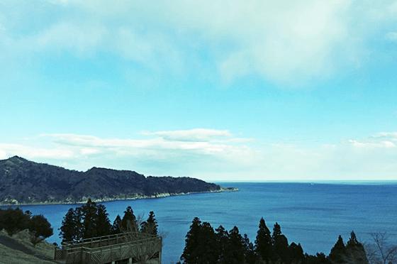 写真:おしか御番所公園の風景