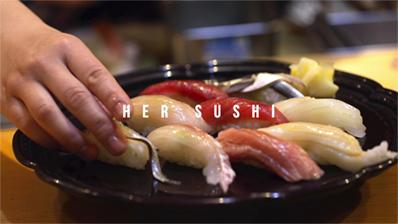 アキバの女性寿司職人 日本文化への挑戦 作品サムネイル