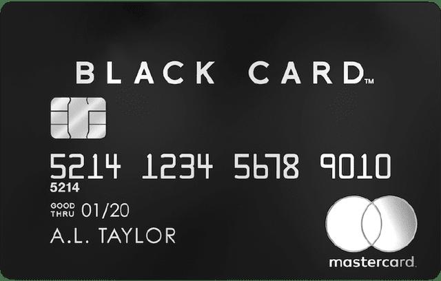 ラグジュアリーカード Mastercard Black Card
