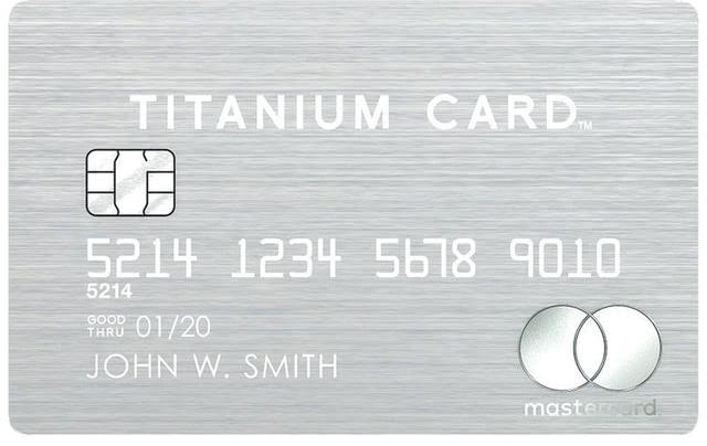ラグジュアリーカード MasterCard Titanium Card