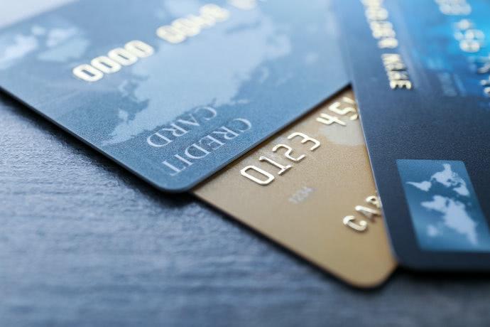 クレジットカード3枚の画像