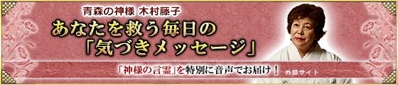 木村藤子「音声サービス」