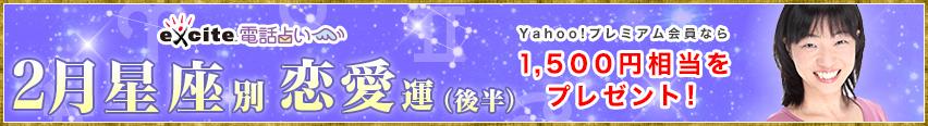 【電話占い】2017年2月(後半)星座別恋愛運