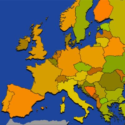 マップパズル ヨーロッパ