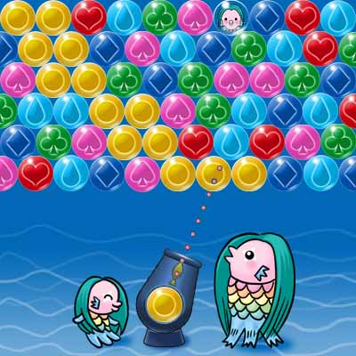 アマビエとバブルの海