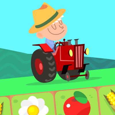 農園パズル10×10