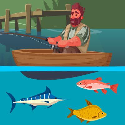 ぶらり魚釣り